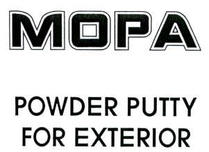 MOPA POWDER PUTTY FOR EXTERIOR
